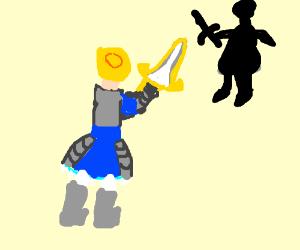 King Arthur vs. The Black Knight