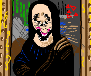 Mona Lisa on drugs