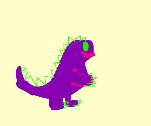 Draw your favorite dinosaur. Pass it on.