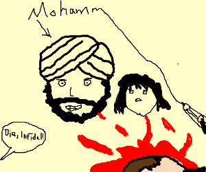 The prophet mohammed and his 9 year old wife