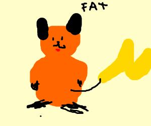 Orange pikachu needs to loose wieght