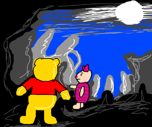 Pooh and Piglet visit LV-426