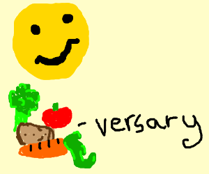 Happy vegiversary!