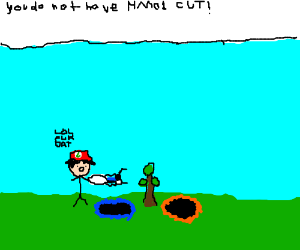 If Ash had a Portal Gun