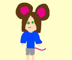 Nezumimi (mouse girl)