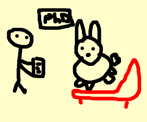 bunny in need of psychotherapy