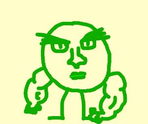 The peas monster rises