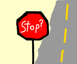 Indecisive Stop Sign