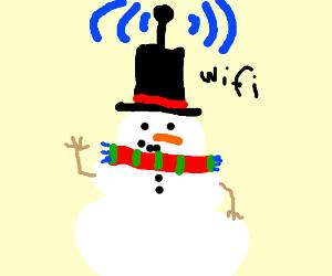 Snowman Wifi