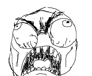 angry rage face - photo #21