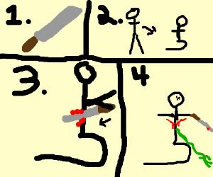 how to commit seppuku drawception