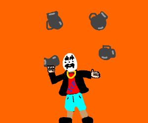 jug juggling juggalo