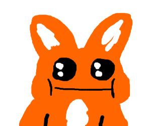 Really fat fox