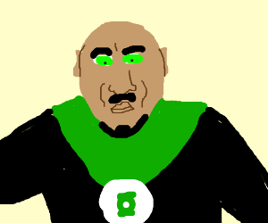 John Stewart (The black Green Lantern)