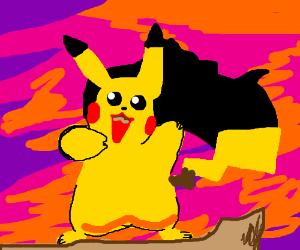 Pikachu Pocahontas
