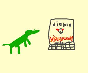 Frogdog plays diablo