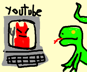 lizard watches the devils youTUBE channle