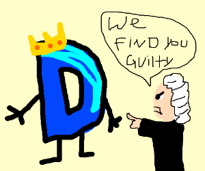 King D is found guilty