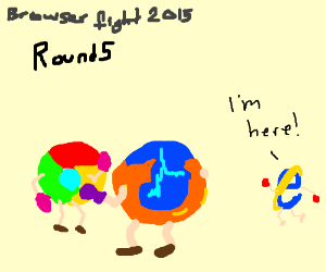 The fight between Chrome, Firefox and Explorer