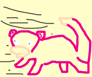 Rolling around at the speed of Slowpoke!