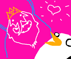 Ice King made Gunter with SCIENCE and love :3