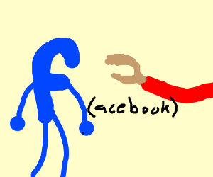 Guy finally tells facebook to talk to the hand