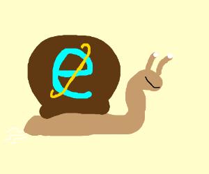 Internet explorer! Wait, thats a snail