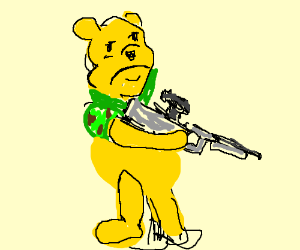 Call of Pooh, honey op