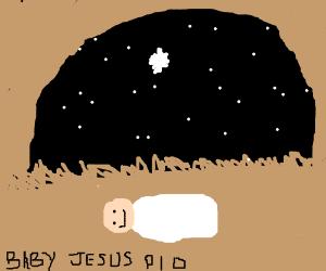 Jesus. under A Star.