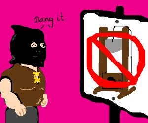 Guillotining forbidden