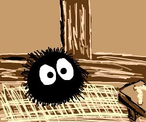 Susuwatari (soot sprite) from Tonari no Totoro