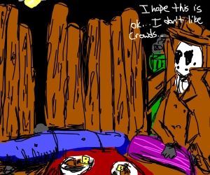 Rorschach takes you out on a date!