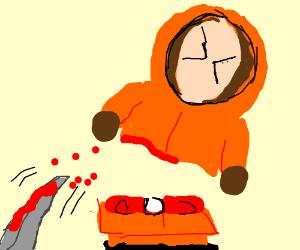 You killed Kenny with a katana!
