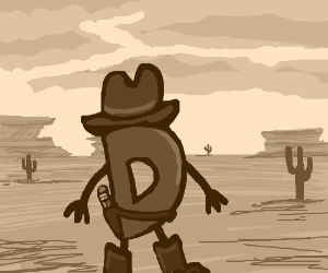 Drawception visits the old west