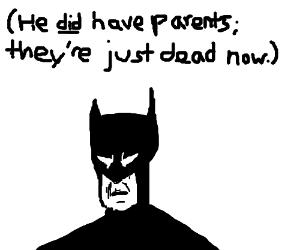 if batman had parents