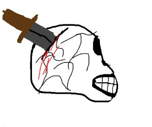 The Dagger in the Skull