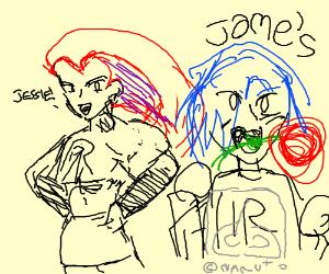 Jessie seems okay, but James is a bit off.