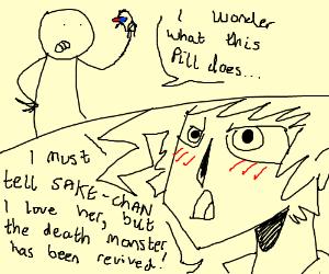The anime pill turns you into anime