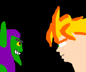 goku vs. green goblin