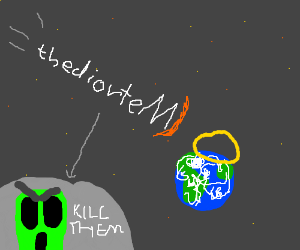 UFO disguised as thediorteM sterdy st Earth.