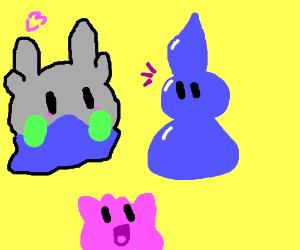 goomy(pokemon) ditto(pokemon) and living water