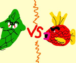 Magikarp vs. Metapod - YouTube