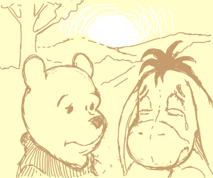 winnie the poo and eor think of past mistakes