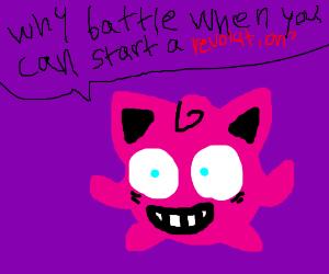 Jigglypuff as an icon of revolution