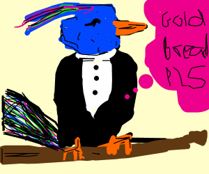 over-privileged bird wants fancy bread