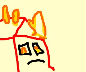 the barn's on fire again