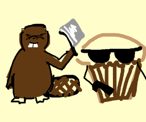 Cleaver beaver and Trouble muffin