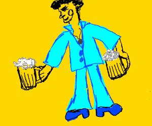 Oktoberfest Disco kid.