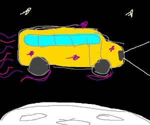 Magic School Bus Jumps Over the Moon