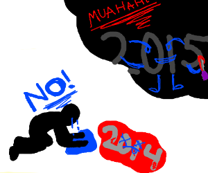 A man cries over the body of 2014, 2015 killed